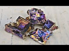 How to Grow Bismuth Crystals at Home