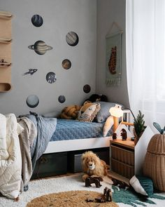 Kids Bedroom, Bedroom Decor, Boy Room Paint, Unique House Design, Baby Room Design, Toddler Rooms, Childrens Room Decor, Kid Spaces, Baby Decor