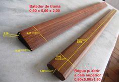 Aqui estão algumas fotos com medidas aproximadas para ajudar na construção de um Tear Vertical de alto-liço; conhecido também como Tear Chileno ou Tear Mapuche * Clique nas fotos para ampliar Acess…