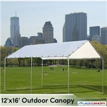Outdoor Canopy Heavy Duty Our canopy is one of our many unique size canopies. This canopy gives you more flexibility with great coverage. & Outdoor Canopy 12x12 The 12x12 outdoor canopy is a great patio ...