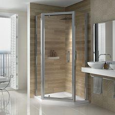 Image Showers. mid range shower doors.  shower doors . Made in Ireland Vertical Doors, Power Shower, Pivot Doors, Luxury Shower, Door Furniture, Types Of Doors, Safety Glass, Shower Enclosure, Shower Doors