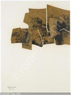 CHILLIDA Eduardo, 1924-2002 (Spain) UNTITLED 1966