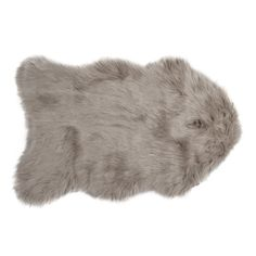 Gordon Faux Sheepskin New Tan Area Rug