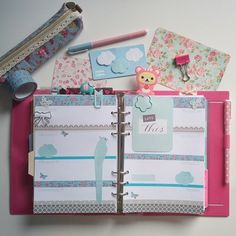Wohoo...My A5 inserts from @najero1 arrived and i did my very first A5 weekdeco. Sooo much space, its awesome! #filofax #filofaxing #diary #agenda #crafting #basteln #shabbychic #starionery #organizer #organization #cutestationery #kawaii #kawaiistationery #blue #planner #plannerlove #welovefilofax