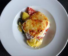 Rezept Spinat-Maultaschen-Auflauf - Laubfröschle-Art von Fett-For-Fun-Thermi - Rezept der Kategorie Hauptgerichte mit Gemüse