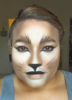 Halloween makeup-- #catwoman mask | I Put a Spell On You ...