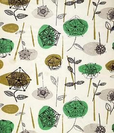 Lucienne Day : Coronation Rose.