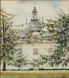 Charlottenlund Slot by Olga