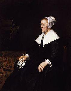 Portrait of Catharina Hooghsaet, Rembrandt, 1657, Oil on Canvas
