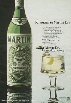 https://flic.kr/p/7Upmm7 | Pubblicità MARTINI DRY 1974 | Cliente: Martini e Rossi Dimensioni: 21x31  Link: illustrated-history.blogspot.com/2010/04/pubblicita-marti...
