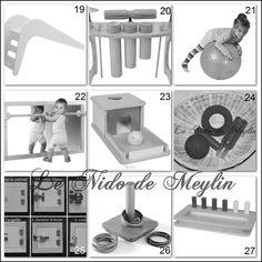 45 idées de cadeaux Montessori pour enfants de 0 à 12mois. ~ Le NIDO de Meylin