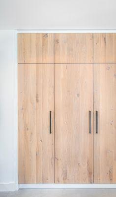 Bedroom Built In Wardrobe, Wooden Wardrobe, Bedroom Closet Design, Bedroom Cupboard Designs, Wardrobe Doors, Wardrobe Design, Bedroom Cupboards, Closet Doors, Home Bedroom