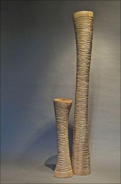 Colonnes fougères naturelles 55 et 125 cm