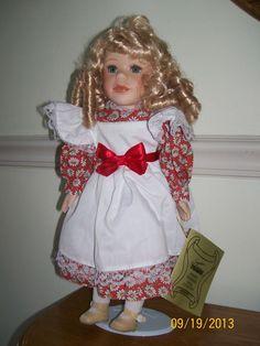 Seymour Mann Connoisseur Doll 1992   Seymour Mann Porcelain Dolls   Seymour Mann Gertrude Connoisseur ...