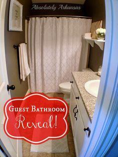 Pretty little guest bathroom