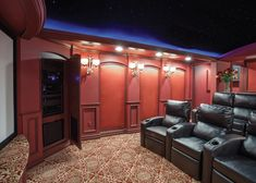 2017 DHDA: Interiors - Home Theater (second place): M.J. Whelan Construction