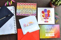 Tarjeta De Feliz Cumpleaños Felicidades Con Sobre Al Tono - $ 25,00 en MercadoLibre