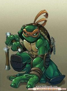 Tortuga Ninja Miguel