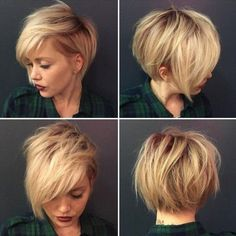 short trendy bob haircut