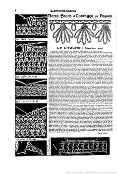 """4 2 Les Dimanches de la femme : supplément de la """"Mode du jour"""" 1922/08/13 (A1,N23)."""