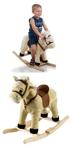 Rocking Horses 19024: Happy Trails Rocking Lil Henry The Horse - Great Gift For The Kids! -> BUY IT NOW ONLY: $42.99 on eBay!