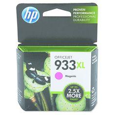 HP 933XL High Yield Magenta Original Ink Cartridge (CN055AN_140)