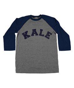 Another great find on #zulily! Navy Arctic 'Kale' Raglan Tee - Unisex #zulilyfinds