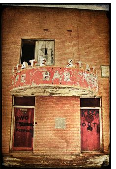 State Bar and Cafe. Old Downtown Carlin, Nevada.