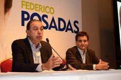 Rodolfo Urtubey estuvo presente en el lanzamiento de la precandidatura a Diputado Nacional de Federico Posadas por el Frente Plural