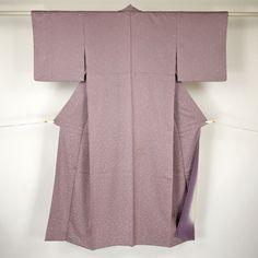 Purple komon kimono / 【小紋】薄紫色あられ柄   #Kimono #Nikko #Japan http://global.rakuten.com/en/store/