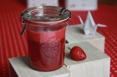 Erdbeer-Pfeffer-Sahne Marmelade Rezept (vegan)