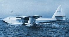 On November 02, 1947 in California, the designer and airplane pilot Howard Hughes performs the maiden flight of the Spruce Goose, the largest fixed-wing aircraft ever built.