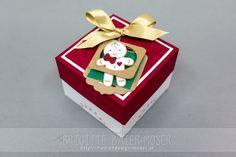 Kuchenbox, hergestellt von Brigitte Baier-Moser mit Stampin'Up!