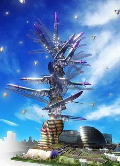 ♂ Futuristic Skyscrapers Good Enough To Eat: Vertical Farm Concepts From Around The World