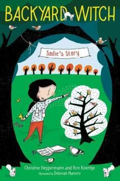 J FIC HEP. When her two best friends take a vacation without her, nine-year-old Sadie meets a witch who takes her on a bird-watching adventure. Includes birding tips.