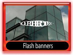 Web flash banner template