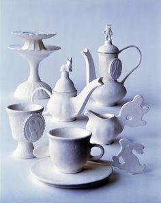 Papieren thee servies Margo Slingerland