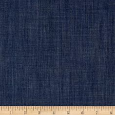 Art Gallery Smooth Denim Solid Indigo Shadow from @fabricdotcom  From Art Gallery Fabrics, this Smooth Denim fabric is part of the Denim Studio collection at AGF. This series of premium substrates, brings you a whole new approach to create your projects. An array of prints and textures on trendy colors are ideal for quilting, apparel, home decor and accessories. Mix and match to suit your taste!