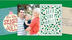 Keep your address book up-to-date and make custom holiday cards