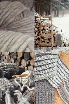 Scandinavian crochet workshops. VINTER SHAWL. Winterwool chuncky shawl. Twocolor crochet. Looks like it's knitted! By Handwerkjuffie