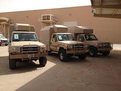 Three vehicles Toyota 4, Rescue Vehicles, Ambulance, Toyota Land Cruiser, 4 Runner, Prado, Rat Rods, Cars, Offroad