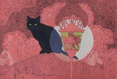Cat in the Garden by yanadhyana on DeviantArt