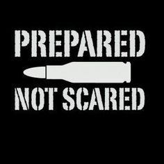 Prepared Not Scared Vinyl Decal