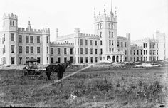 Northern Illinois Normal School (later Northern Illinois University) DeKalb, IL. Ca 1899.