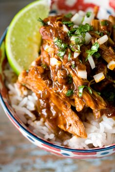 Delicious recipes: Pulled Pork Al Pastor Pulled Pork Recipes, Meat Recipes, Mexican Food Recipes, Dinner Recipes, Cooking Recipes, Chicken Recipes, I Love Food, Good Food, Yummy Food
