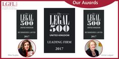 So proud of our new status. #Legal500