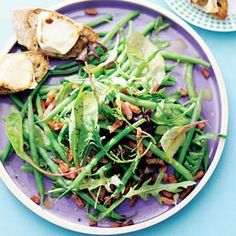 Salade warme geitenkaas Green Beans, Foodies, Vegetables, Recipes, September, Blog, Salads, Vegetable Recipes, Veggie Food