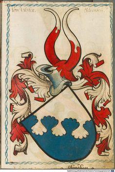 Scheibler'sches Wappenbuch Süddeutschland, um 1450 - 17. Jh. Cod.icon. 312 c  Folio 215