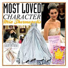 """My Mia Thermopolis"" by iamrendrawati ❤ liked on Polyvore featuring moda, Tela Beauty Organics, Bling Jewelry, Zac Posen i SUQQU"