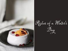 Vanilla & Clove Panna Cotta with HoneyedPersimmon | Roost: A Simple Life